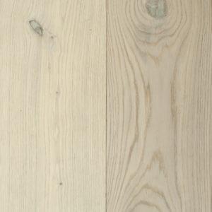Houten vloer aanbieding - Wit-geolied
